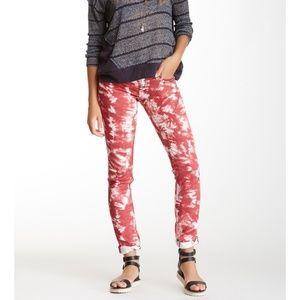 MISS ME Tie-Dye Skinny Jeans